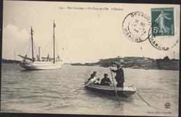CPA Iles Chausey Un Coin De L'île L'Ondine 174 Coron Phot Granville - Altri Comuni