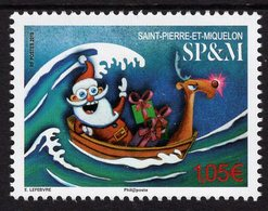 St. Pierre & Miquelon - 2019 - Christmas - Mint Stamp - Ongebruikt
