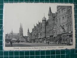 Oostende Ostende Av. De Smet De Naeyer Et Hötel Du Petit Bateau -> Kermismolen - Oostende