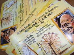 2019 URUGUAY Wholesale X 50 MNH S/S **Mahatma Gandhi INDIA LEADER 150 BIRTH ANNIVERSARY - Mahatma Gandhi