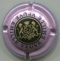 CAPSULE-CHAMPAGNE EMILLE VEUVE N°14 Violet Métallisé Noir & Or - Champagnerdeckel