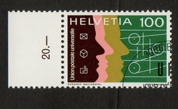 Helvetia / Technical Cooperation UPU / U.P.U. (Universal Postal Union) / 1976 / 100 / Burkard Waltenspül - Suisse