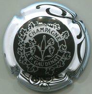 CAPSULE-CHAMPAGNE GAUDINAT J.P. N°15 Noir, Contour Blanc - Autres