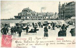 Souivenir D'OSTENDE - Le Kursaal Et La Plage - Oostende