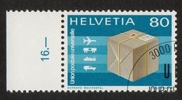Helvetia / Package Post UPU / U.P.U. (Universal Postal Union) / 1976 / 80 / Burkard Waltenspül - Zwitserland