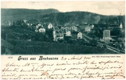 SH Gruss Aus NEUHAUSEN - SH Schaffhausen