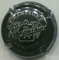 CAPSULE-CHAMPAGNE GEOFFROY R. N°09 Noir, écriture Grise - Champagne