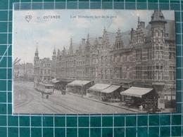 Oostende Ostende Les Hôtels En Façe De La Gare - Oostende