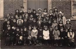 Carte Photo à Identifier - Enfants - Classe - Peut-être GRAND COURONNE ? - Postcards