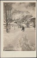 Ehrwald Mit Wetterstein, Tirol, C.1930 - Somweber Foto-AK - Ehrwald