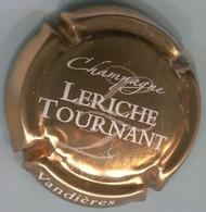 CAPSULE-CHAMPAGNE LERICHE-TOURNANT N°22 Cuivre Et Blanc - Champagne