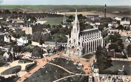 BONSECOURS - La Basilique Notre-Dame - Vue Aérienne (CPSM Petit Format) - Bonsecours