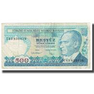 Billet, Turquie, 500 Lira, 1970, 1970-10-14, KM:195, TB - Turkije