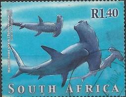 SOUTH AFRICA 2001 Marine Life - 1r.40 - Scalloped Hammerhead Sharks FU - África Del Sur (1961-...)