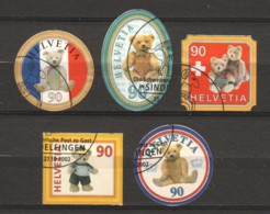 Switzerland 2002 Mi 1796-1800 Canceled - Oblitérés