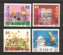 Switzerland 2004 Mi 1869-1872 Canceled - Oblitérés