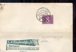 Den Helder - IJzerhandel Buijtendijk & Zn. - 1958 - Poststempels/ Marcofilie