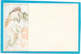 MUCHA - ART NOUVEAU - Femme Fleurs - Mucha, Alphonse