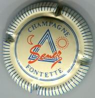 CAPSULE-CHAMPAGNE SENEZ N°09 Bleu Striée - Champagne