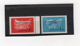 RUSSIE & URSS   1963  Poste  Aérienne  Y.T. N° 115  117  NEUF** - Ungebraucht