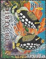 SOUTH AFRICA 2001 Marine Life - 1r.40 - Clown Triggerfish FU - África Del Sur (1961-...)