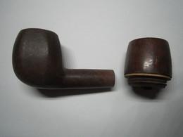 2 TÊTES DE PIPE Dont Une CHAP - Pipes En Bruyère