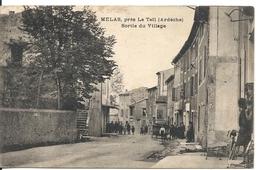 MELAS. SORTIE DU VILLAGE - Frankrijk