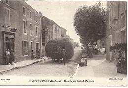 ROUTE DE SAINT VALLIER. ATTELAGE - Hauterives