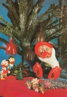 Duck Nephews & Sleepy Dwarf Dolls Old Postcard Walt Disney - Andere