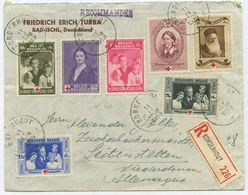 1939 Belgien R-Brief Borgerhout Seitenstetten - Briefe U. Dokumente