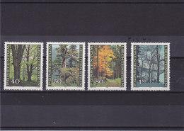 LIECHTENSTEIN 1980 FORÊT ARBRES Yvert 698-701 NEUF** MNH - Liechtenstein