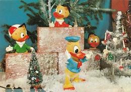 Donald Duck & Nephews Dolls Old Postcard Walt Disney - Andere