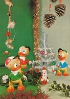 Donald Duck Nephews Dolls Old Postcard Walt Disney - Andere