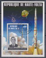 Haute Volta B.F. N° 5 P O,  Hommage Au Général De Gaulle, Le Bloc Assez Belle Oblitération, TB - Upper Volta (1958-1984)