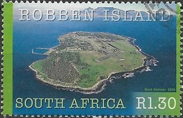 SOUTH AFRICA 2000 UNESCO World Heritage Sites - 1r30 Robben Island FU - África Del Sur (1961-...)