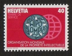 Helvetia / OMPI-Symbols / OMPI/WIPO - World Intellectual Property Organization / 1982 / 40 / Roland Hirter - Zwitserland