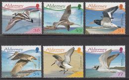 2009 Alderney Birds Oiseaux Complete Set Of 6 MNH @ Face Value !!! - Alderney