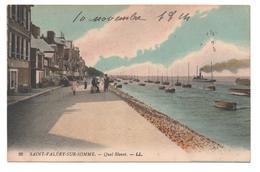 80.508/ ST VALERY Sur SOMME - Quai Blavet - Saint Valery Sur Somme