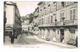 CPA (88) Plombières Les Bains. La Rue Stanislas. Maison Resal Cornuot      (M.436). - Plombieres Les Bains