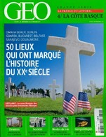 Géo N°391 : 50 Lieux Qui Ont Marqué L'histoire Du XXe Siècle De Collectif (2011) - Libri, Riviste, Fumetti