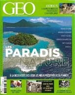 Géo N°419 : Les Paradis Nature De Collectif (2014) - Ohne Zuordnung