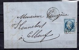 Algérie Belle Lettre Entière De 1865. B/TB. A Saisir! - Postmark Collection (Covers)