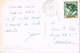 34807. Postal PUENTE Del PASAJE (Coruña) 1963. Vista Castillo De Santa Cruz En CORUÑA - 1931-Hoy: 2ª República - ... Juan Carlos I
