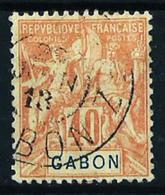 Gabón (Francés) Nº 26 Usado Cat.24€ - Gabon (1886-1936)