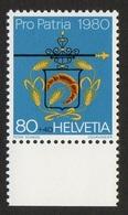 Helvetia / Bakers (20th Cty.) / 1980 / 80 / Peter Schiegg / Courvoisier - Suisse