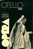 L'avant-scène Opéra N°3 : Otello Verdi  De Collectif (1976) - Unclassified