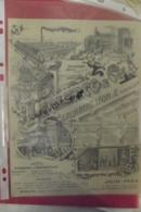 Facture Leclerc & Cie Grunberg Leon & Cie Manufacture D'appareils Paris 1903 - 1900 – 1949