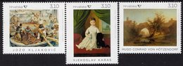 Croatia - 2019 - Fine Art On Stamps - Hoetzendorf, Karas, Kljakovic - Mint Stamp Set - Croatie