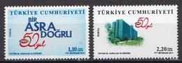 Turkey MNH Pair - 1921-... Republic