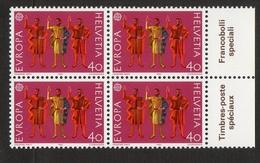 Helvetia / 4 X / Ruetli Oath / 1982 / 40 / Celestino Platti / Courvoisier - Zwitserland
